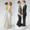Image of Resin Same Sex Wedding Cake Topper