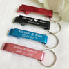 Personalised Bottle Opener Keyrings - Pack of 50