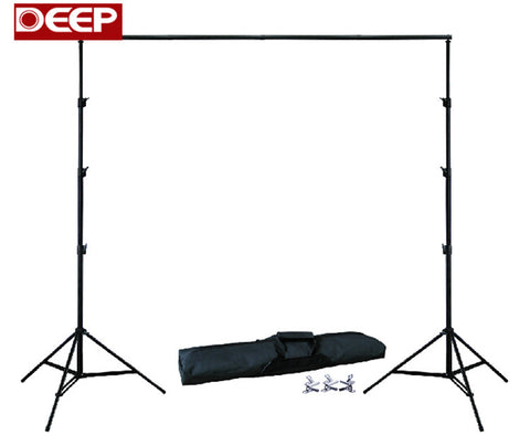 Adjustable Photography Backdrop Frame with Carry Bag