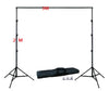 Image of Adjustable Photography Backdrop Frame with Carry Bag