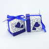 Image of Coloured Heart Design Favor Boxes - 100pcs