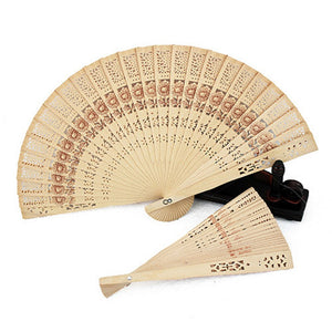 Japanese Sandalwood Hand Fan