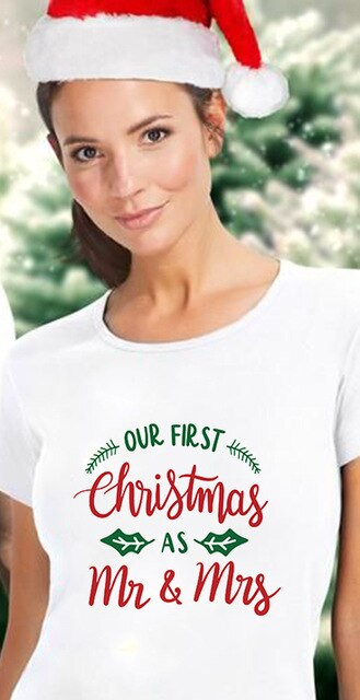 First Christmas As Mr & Mrs T-Shirts
