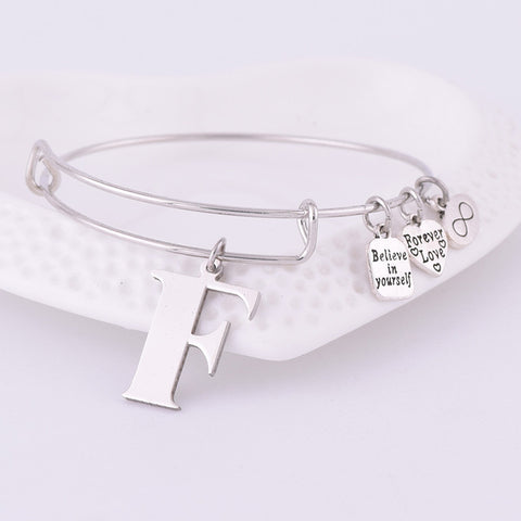 Personalised Initial Bangle