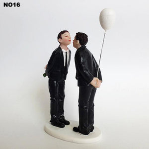 Resin Fun Wedding Cake Topper