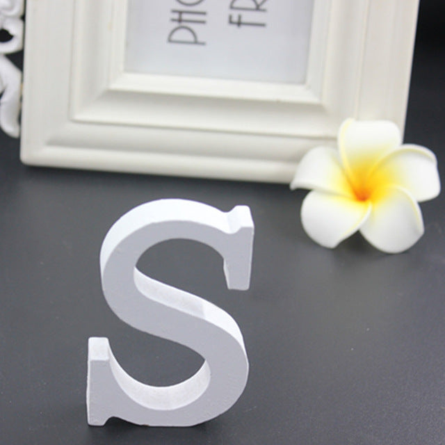 Freestanding Wooden Rustic Letters