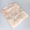 Image of Personalised Morning of the Wedding Robes - Champagne