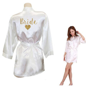 Morning of the Wedding Team Bride Robes