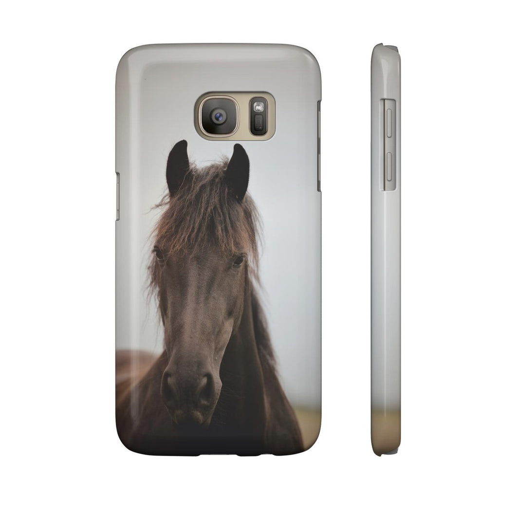 Must Love Horses - Black Beauty - Phone Case (Samsung Galaxy S7)