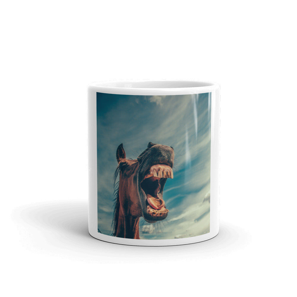 Must Love Horses - Stop Horsing Around - Coffee Mug