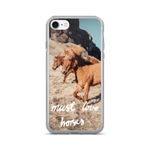 "Must Love Horses - ""Galloping Horses"" - iPhone 7/7 Plus Phone Case"