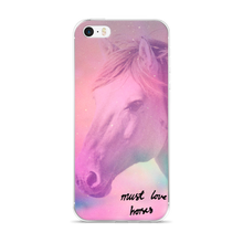 Must Love Horses - Dream Horse - iPhone Case (for 5, 6 and 6 Plus)