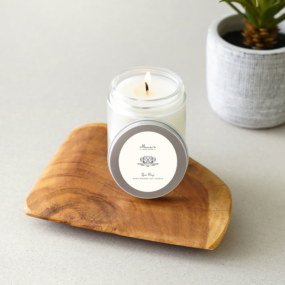 Hammered Brass & Suede Napkin Ring | Set of 4 - Mama's Junk Co.