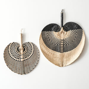 Florence Hand-Woven Fans | Set of 2 - Mama's Junk Co.