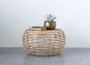 Bamboo Side Table - Mama's Junk Co.