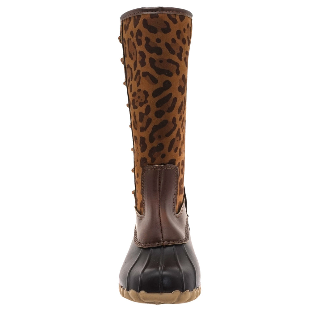 Women's Tall Boot | Leopard - Mama's Junk Co.