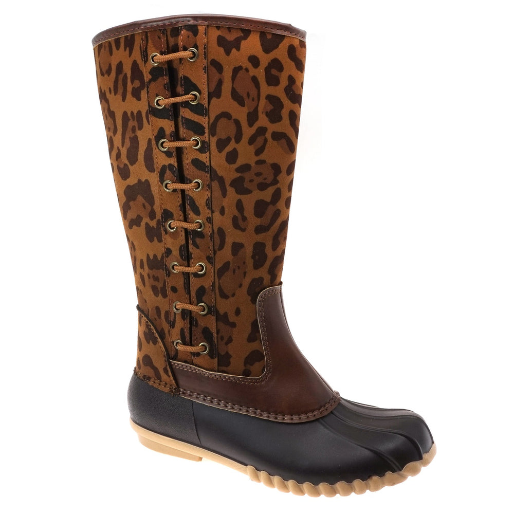 Women's Tall Boot | Leopard