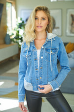 Adira Denim jacket - Mama's Junk Co.
