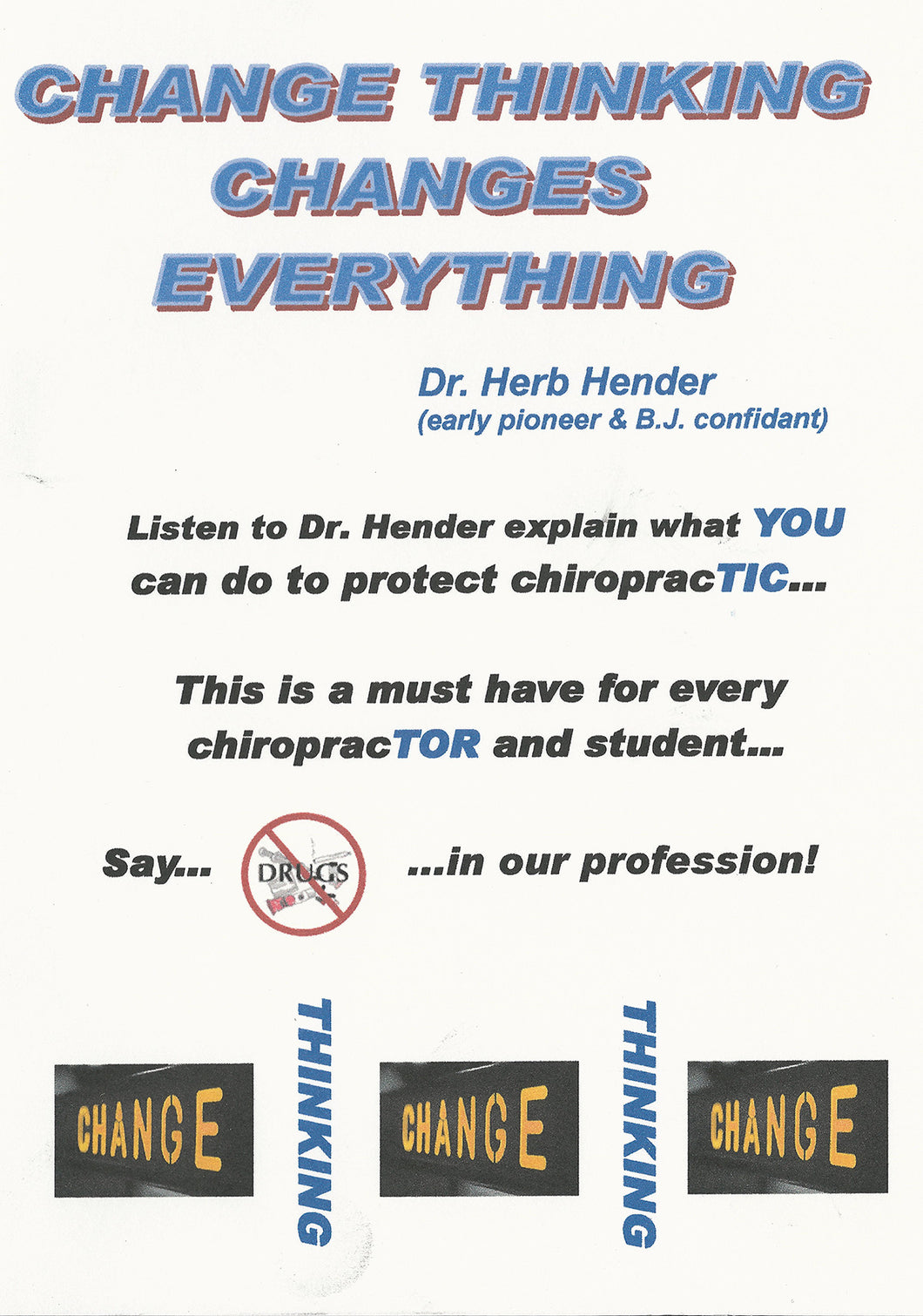 Change Thinking Changes Everything (A must for every DC & Student) MP3