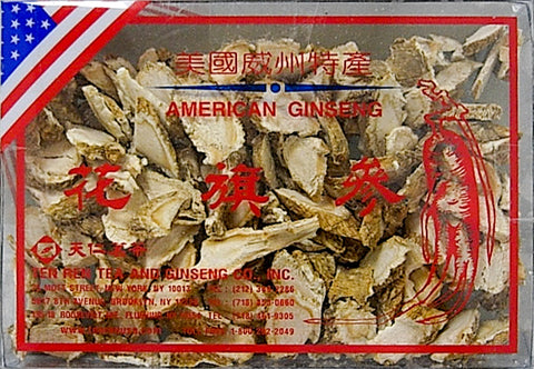 Cultivated American Ginseng Slices