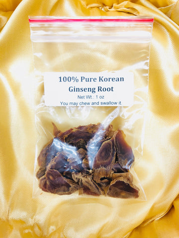 Korean Ginseng Slices