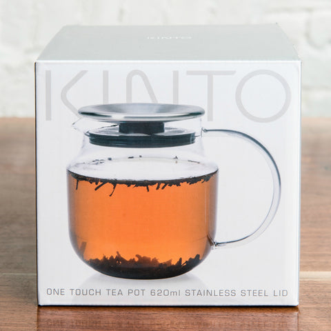 Kinto One Touch Tea Pot