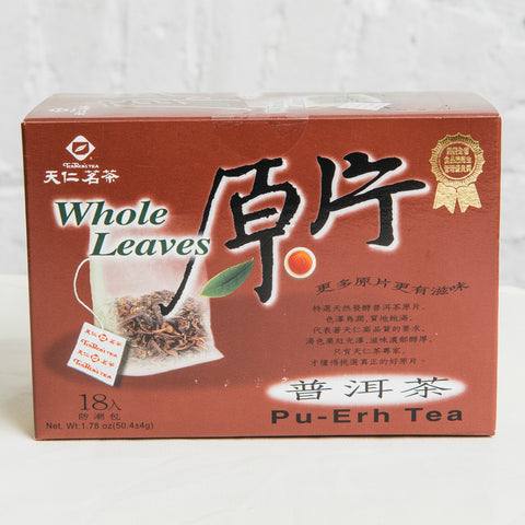 Whole Leaves Pu-Erh Tea