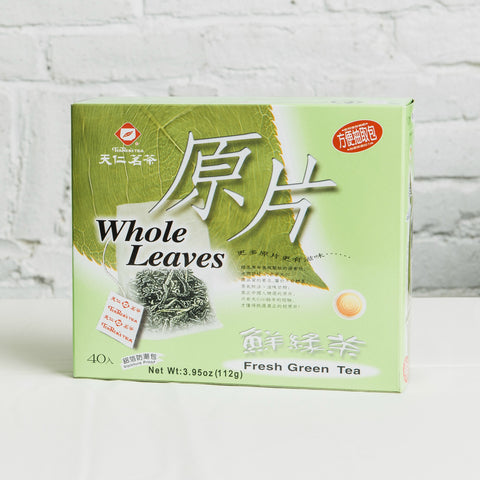 Whole Leaves Green Tea
