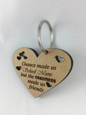 School Mum Friends  - Key ring