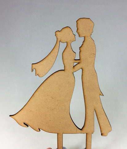 Wedding Cake Topper - Waltzing Couple