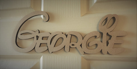 Disney Font Bedroom Door Name Sign