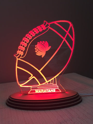 Rugby Ball LED light