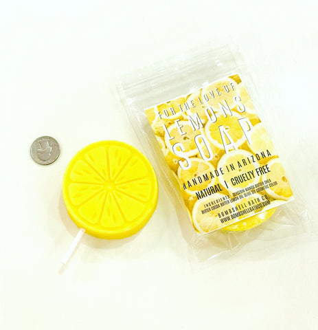 For The Love of Lemons Body Soap