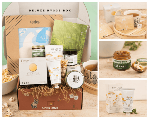 Hygge Box Deluxe Connecting with Nature