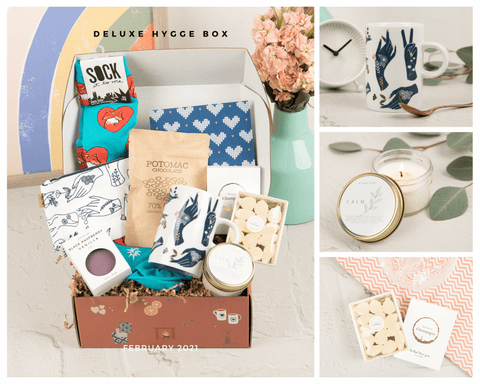 Hygge Box Deluxe Happy Hygge Days February 2021