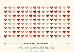 Shop Hygge Box Gift Card - Valentines