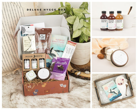 Hygge Box Deluxe January 2021
