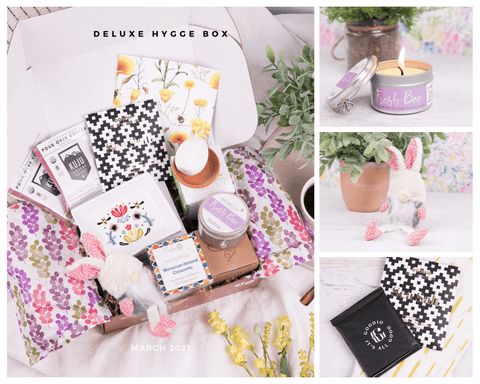 Hygge Box Deluxe Brighter Days March 2021
