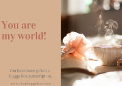 Shop Hygge Box Gift Card - You Are My World