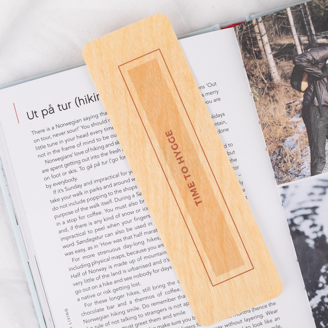 Time to Hygge Bookmark