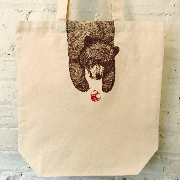 Bare Bear Canvas Tote