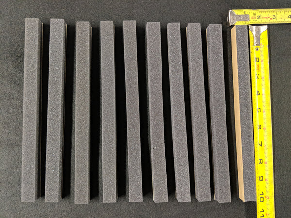 "Sheet Foam - 10"" x 3/4"" x 3/4"" (10 Piece) (SKU: Foam-10-3-4) - Blend Door USA"