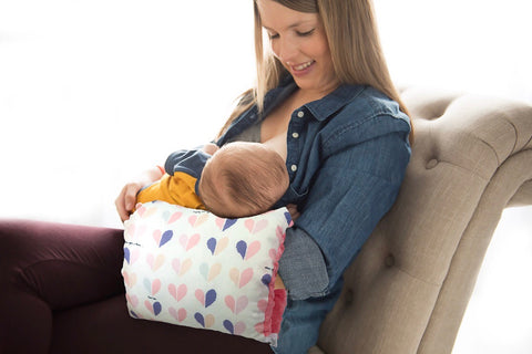 The Number 1 Breastfeeding Arm Pillow | The Nursie | Portable Baby Pillow | One Love