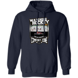 Watching Hocker With Bog Custom Pullover Hoodie