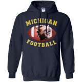 "Jake Custom Apparel University Of Michigan 3D ""MICHIGAN FOOTBALL"" T-Shirt & Hoodie"