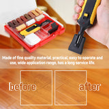 Laminate Repairing Kit Wax System Floor Worktop Sturdy Casing Chips Scratches Mending Tool Set|Hand Tool Sets