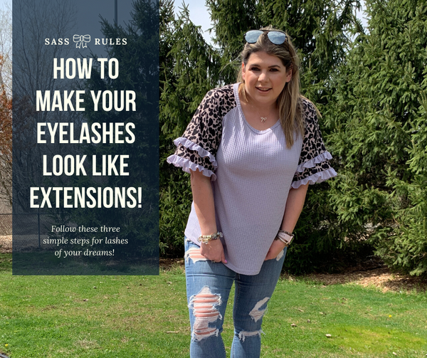 How to Make Your Lashes Look Like Extensions