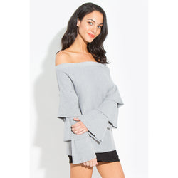Cristina Off The Shoulder Sweater