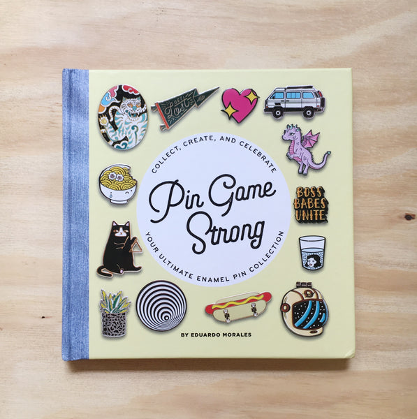 Pin Game Strong Enamel Pin Book How To Make Custom Pins and Pin Collection