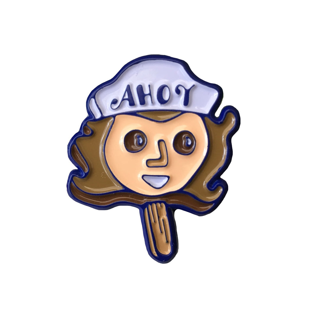 Steve Scoops Ahoy #pinlordcollab winner pin made in collaboration with @pins.and.things.shop